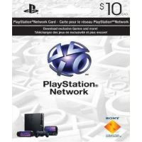 PlayStation Network Card (PSN) 10 CAD (Canada)