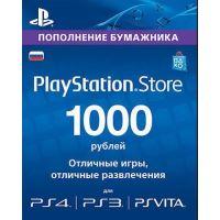 PlayStation Network Card (PSN) 1000 RUB (Russia)