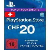 Playstation Network Card (PSN) 20 CHF (Switzerland)