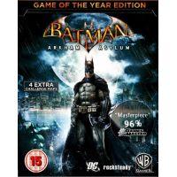 Batman: Arkham Asylum (GOTY) - Platformy Steam cd-key