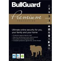 BullGuard Premium Protection 3 Devices GLOBAL Key 1 Year