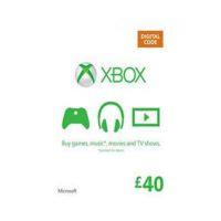 Xbox Live Card 40£ (GBP)