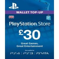 PlayStation Network Card (PSN) 30£ (UK)