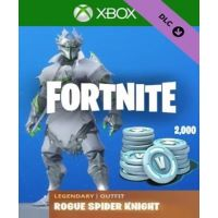 Fortnite - Legendary Rogue Spider Knight Outfit + 2000 V-Bucks EU (Xbox One)
