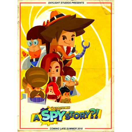 Holy Potatoes! A Spy Story?! - Platforma Steam cd-key