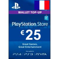PlayStation Network Card (PSN) €25 (France)