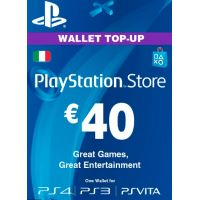 Playstation Network Card (PSN) ‎€40 (Italy)