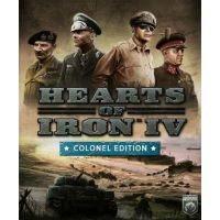 Hearts of Iron IV (Colonel Edition) Uncut - PLATFORMY STEAM CD-KEY
