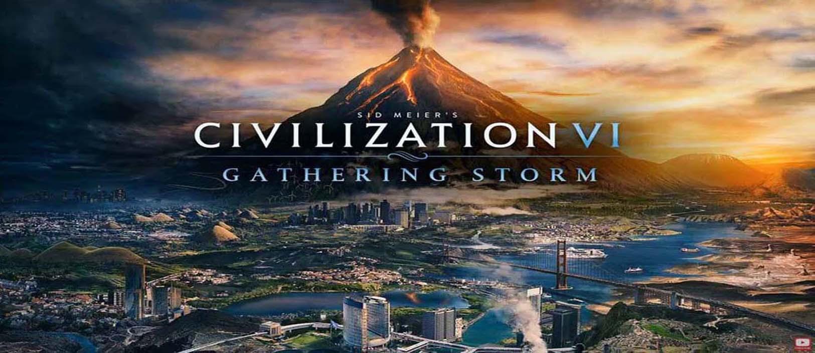 CIVILIZATION 6: GATHERING STORM - PRZED SPRZEDAŻ (PRE - ORDER) STEAM CD KEY